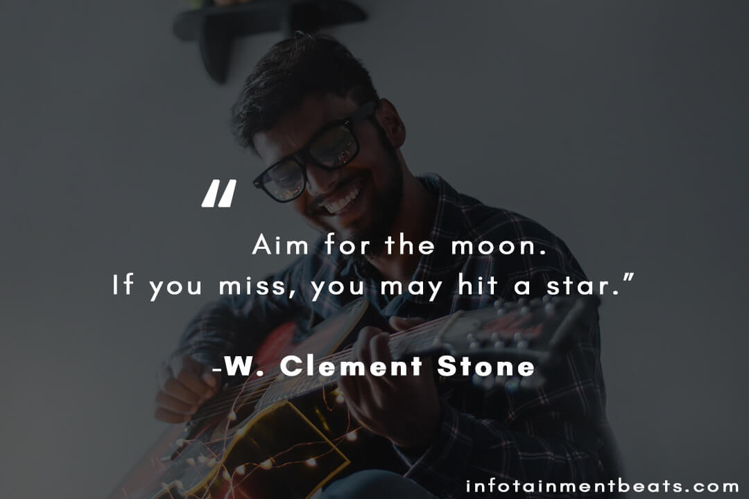 w clement stone aim for the moon