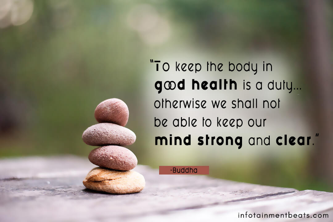 Buddha-keep-the-good-health-is-duty