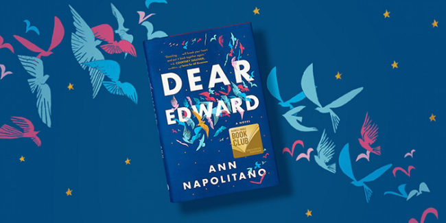 dear edward book club questions