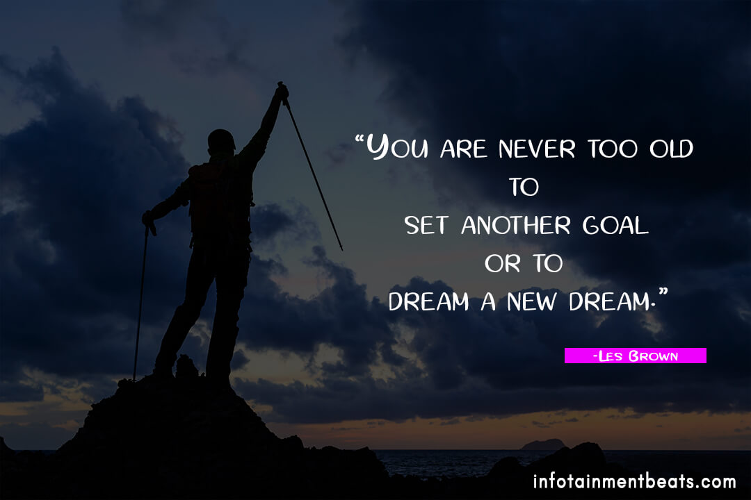 Les-Brown-set-another-goal-quote