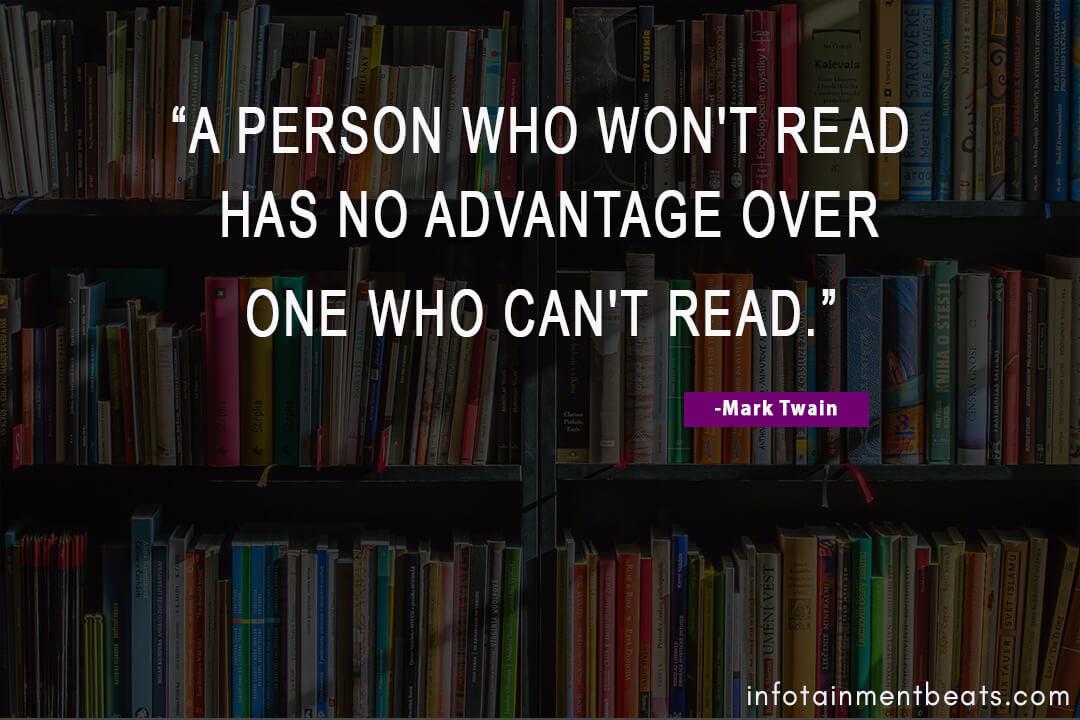 Mark-Twain-tell-advantages-of-reading