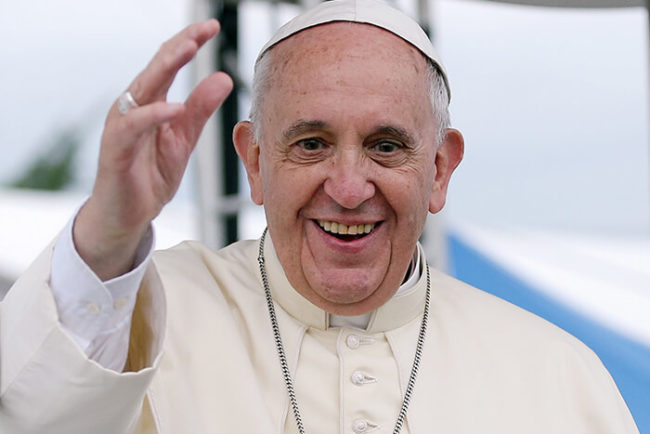 Most Secured Persons: pope francis biography