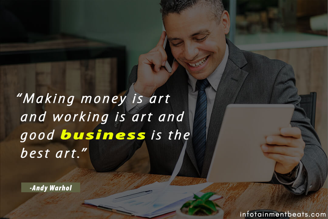 Andy-Warhol-quote-about-good-business