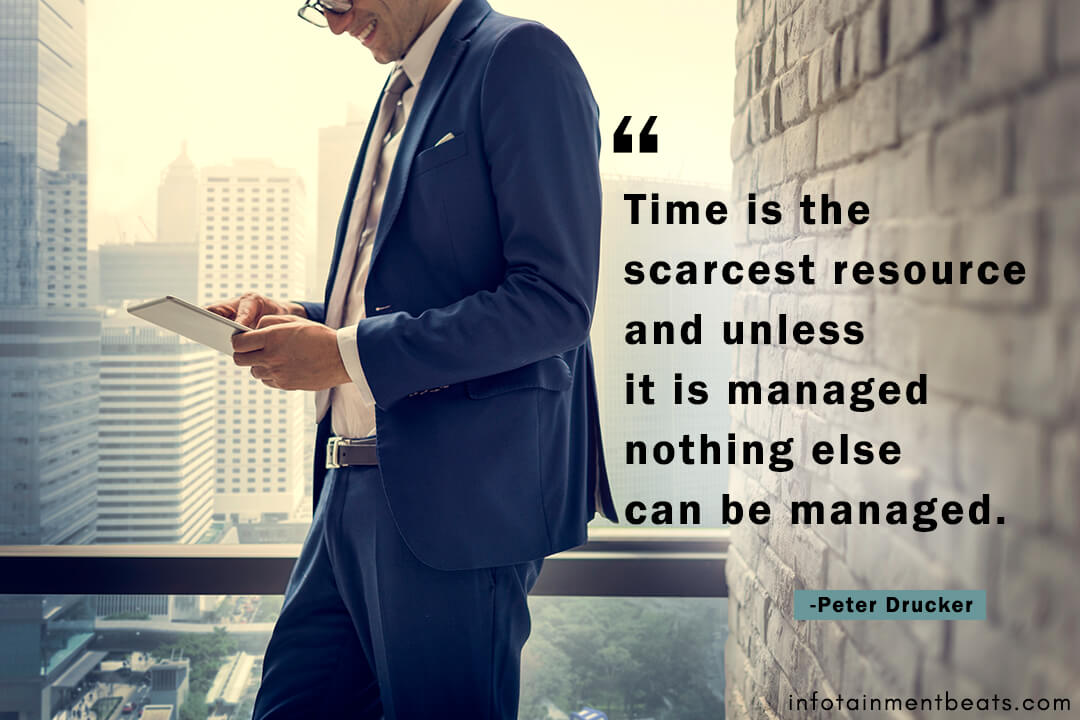 Peter-Drucker-quote-about-time-manage