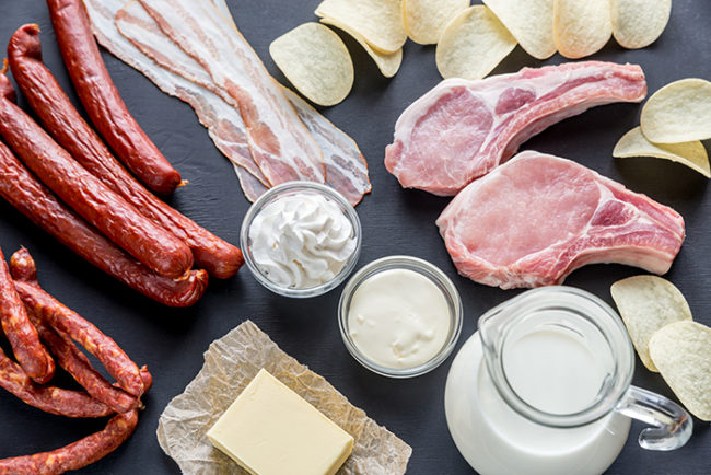 sources of saturated fats in food-Tips for smart eating