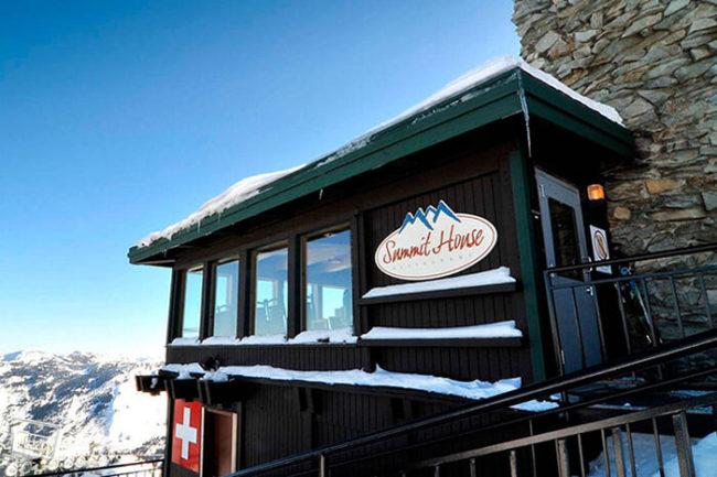 summit house restaurant crystal mountain menu