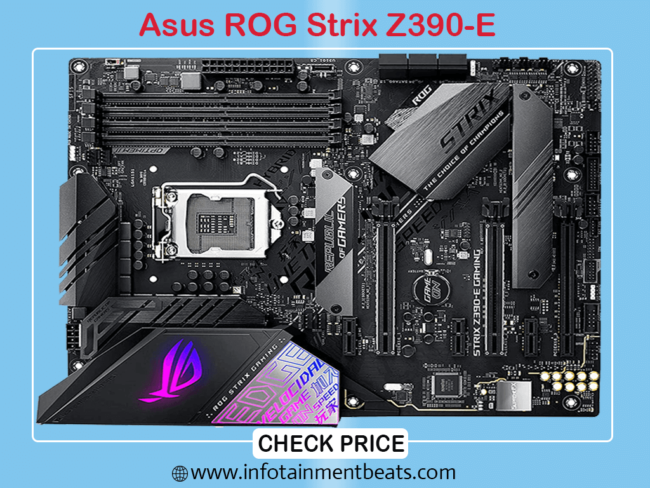 ASUS ROG Strix Z390 Gaming Motherboard