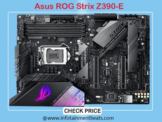 ASUS ROG Strix Z390 Gaming Motherboard