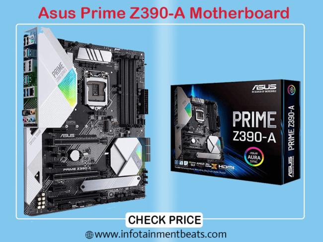 Asus Prime Z390 Gigabit LAN Motherboard