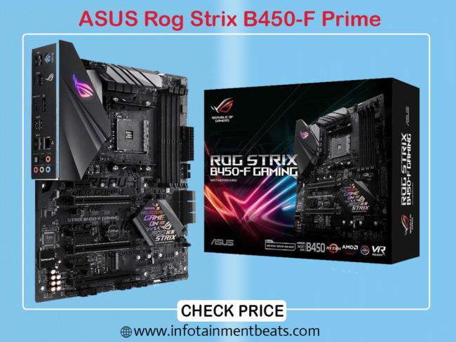 ASUS Rog Strix B450-F Prime
