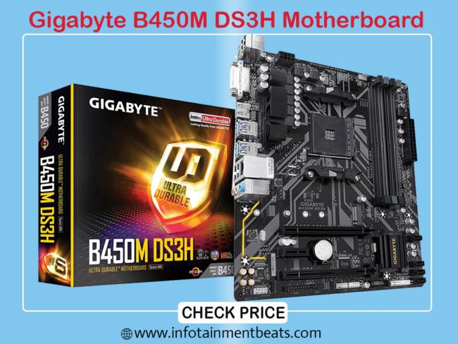 Gigabyte B450M DS3H Motherboard