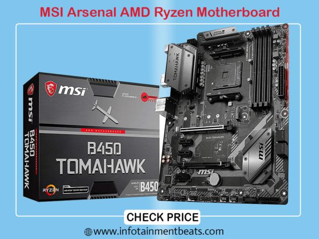 MSI Arsenal AMD Ryzen Motherboard