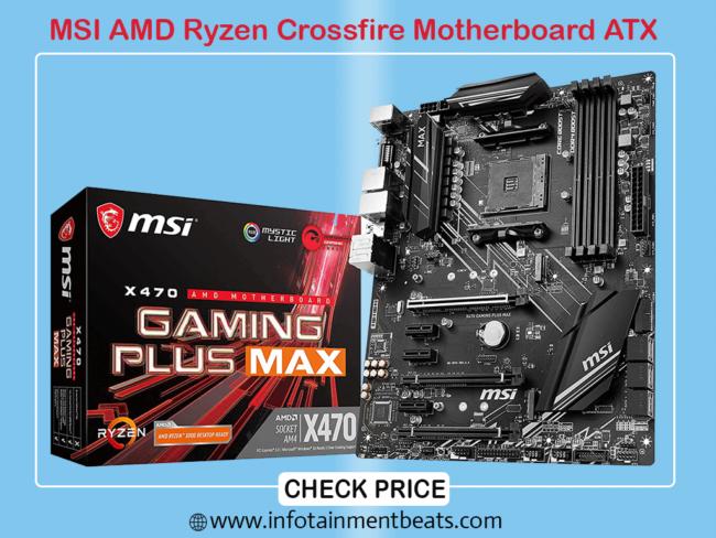 MSI Performance AMD Ryzen Crossfire Motherboard ATX