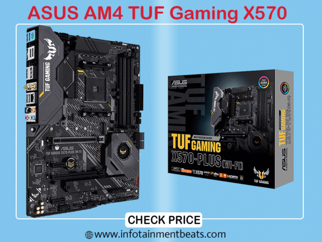 2 ASUS AM4 TUF Gaming X570 - Plus