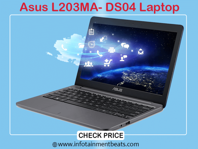 3- Asus L203MA- DS04 Laptop