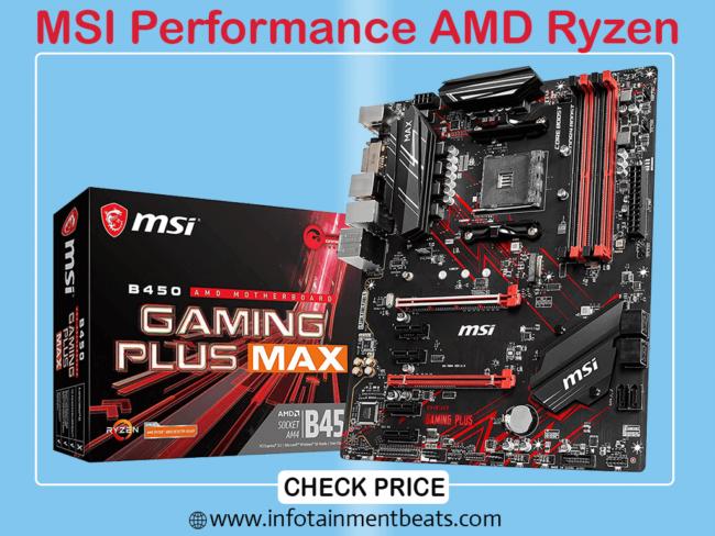 4 MSI PROFORMANCE AMD RYZEN