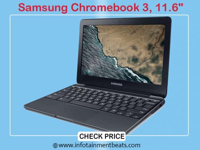 5- Samsung Chromebook