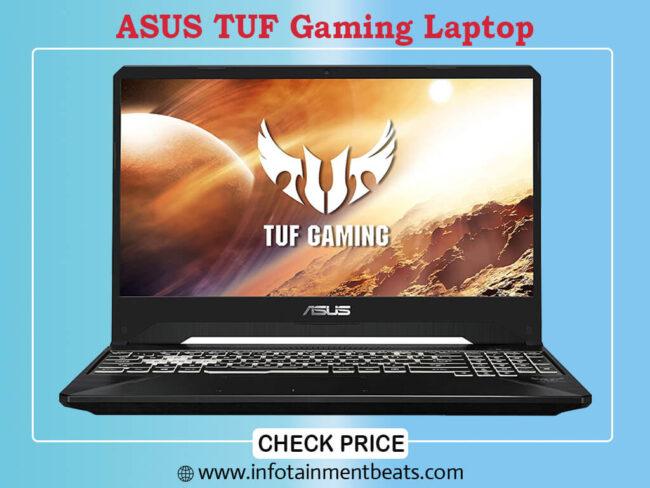 6- ASUS TUF Gaming gaming laptop