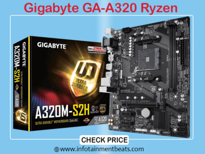 8 Gigabyte GA-A320 Ryzen
