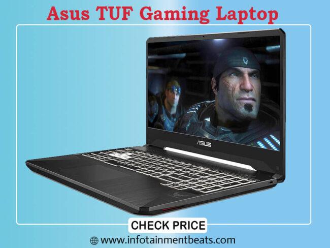 9- Asus TUF Gaming Laptop