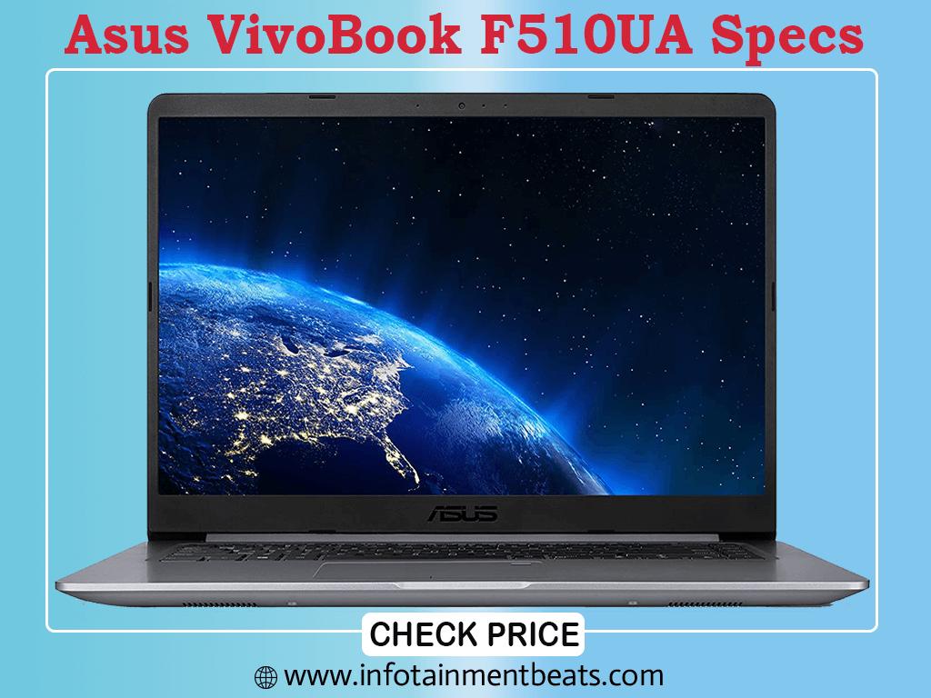 Asus VivoBook F510UA Specs