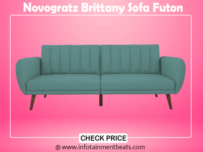 1- Novogratz Brittany Sofa Futon