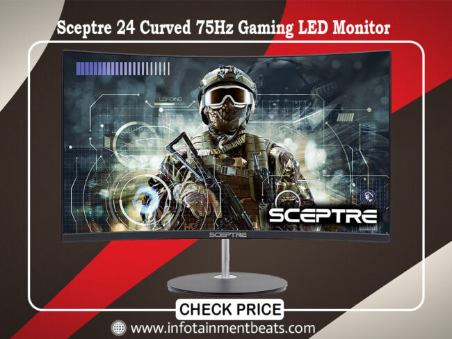 Sceptre 24 Curved 75Hz Gaming LED Monitor