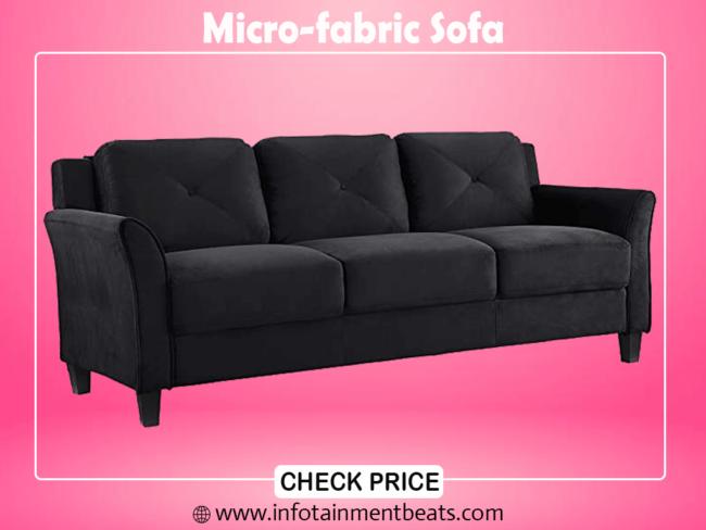 4.Micro-fabric Sofa