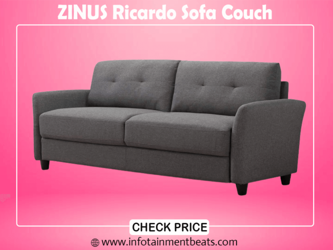 7- ZINUS Ricardo best Sofa Couch