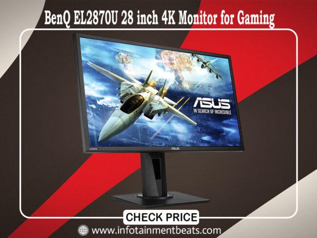 BenQ EL2870U 28 inch 4K Monitor for Gaming