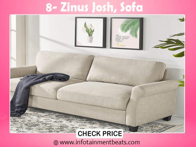 8- Zinus Josh best Sofa