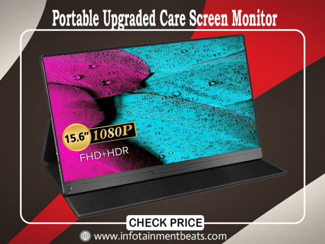 Portable Upgraded Care Screen Monitor