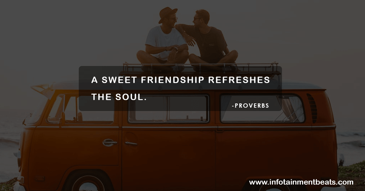 Friendship quotes by proverb