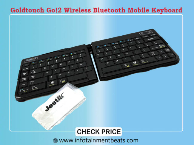 Goldtouch Go!2 Wireless Bluetooth Mobile Keyboard
