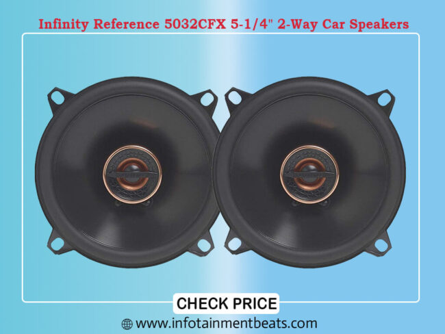 Infinity Reference 5032CFX 5-1 4 2-Way Car Speakers