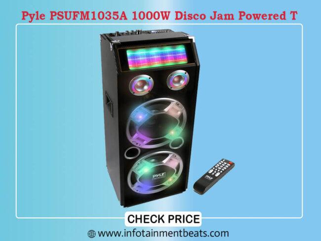 Pyle PSUFM1035A 1000W Disco Jam Powered T
