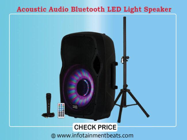 Acoustic Audio by Goldwood Bluetooth LED Light Display Speaker