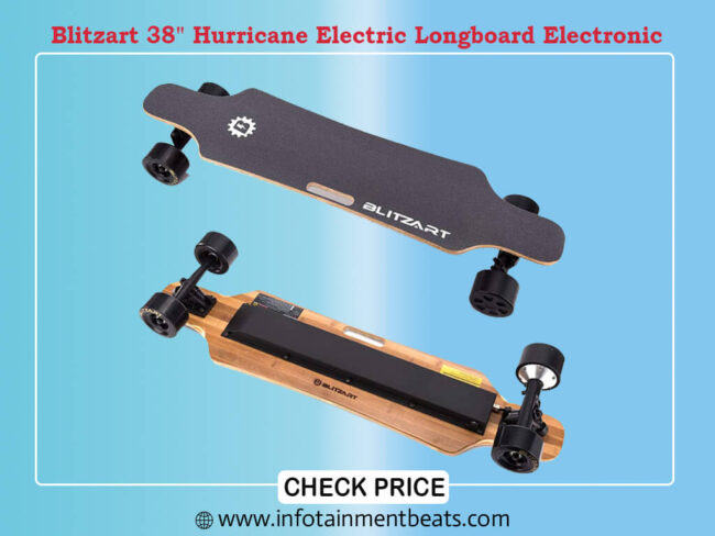 Blitzart 38 Hurricane Electric Longboard Electronic