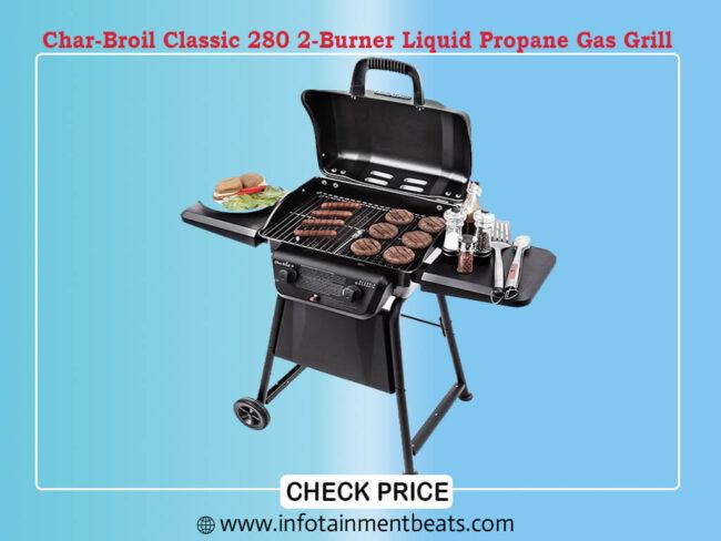 Char-Broil Classic 280 2-Burner Liquid Propane Gas Grill