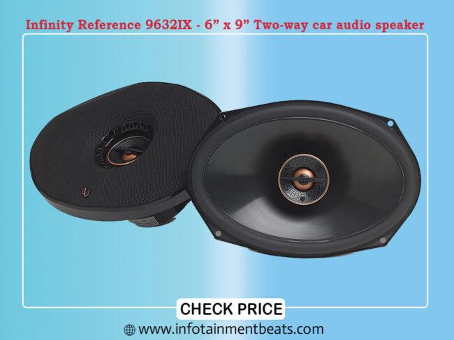 infinity Reference 9632IX - 6GÇ¥ x 9GÇ¥ Two-way car audio speaker