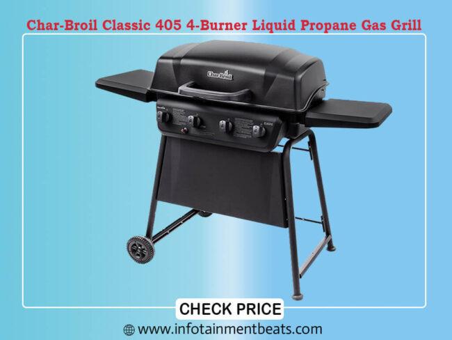 Char-Broil Classic 405 4-Burner Liquid Propane Gas Grill