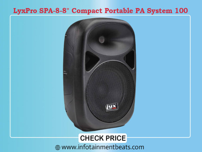 LyxPro SPA-8-8 Compact Porta