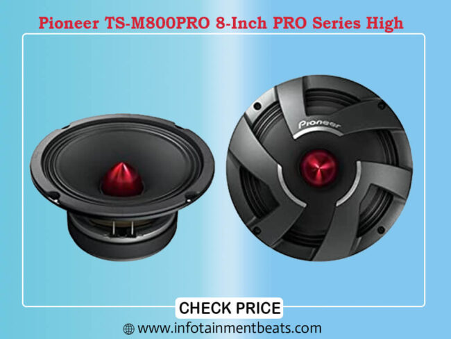 Pioneer TS-M800PRO 8-Inch PRO Series High
