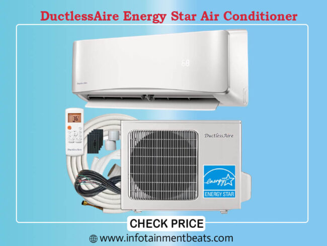 DuctlessAire Energy Star Air Conditioner