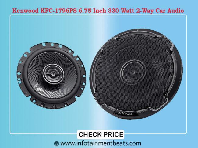 Kenwood KFC-1796PS 6.75 Inch 330 Watt 2-Way Car Audio