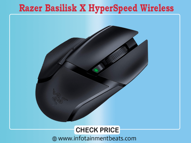 Razer Basilisk X HyperSpeed Wireless