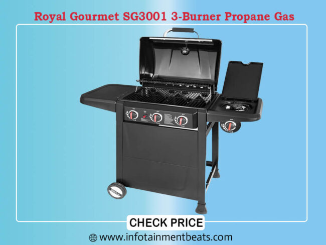 Royal Gourmet SG3001 3-Burner Propane Gas