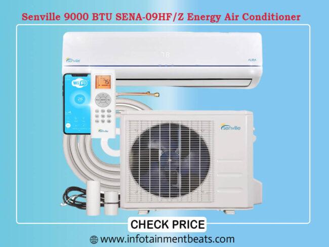 Senville 9000 BTU SENA-09HF Z Energy Star Mini Split Air Conditioner