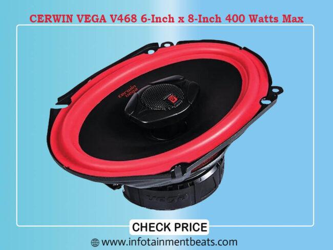 CERWIN VEGA V468 6-Inch x 8-Inch 400 Watts Max