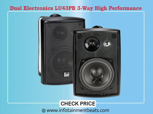 Dual Electronics LU43PB 3-Way High Performance